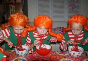 themakisten kinderfeestje