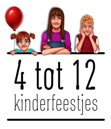 goedkope kinderfeestjes van 4 tot 12 jaar